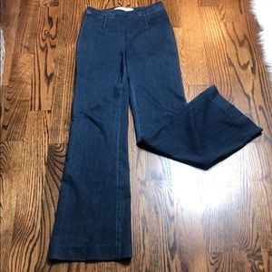 Diane Von Furstenberg Denim Flare Jeans Size 0